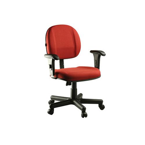 Cadeira giratória secretáia executiva com apoio lombar