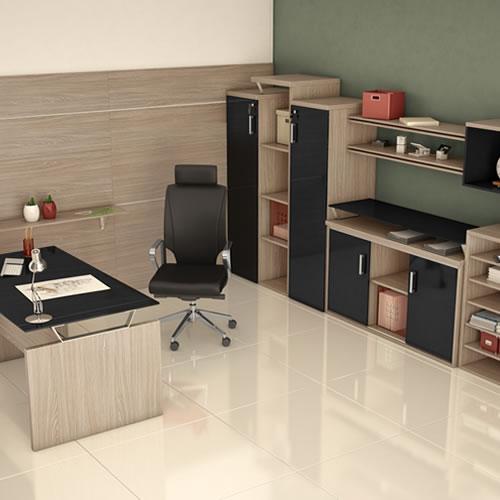 Linha de móveis para escritório Lineares 1
